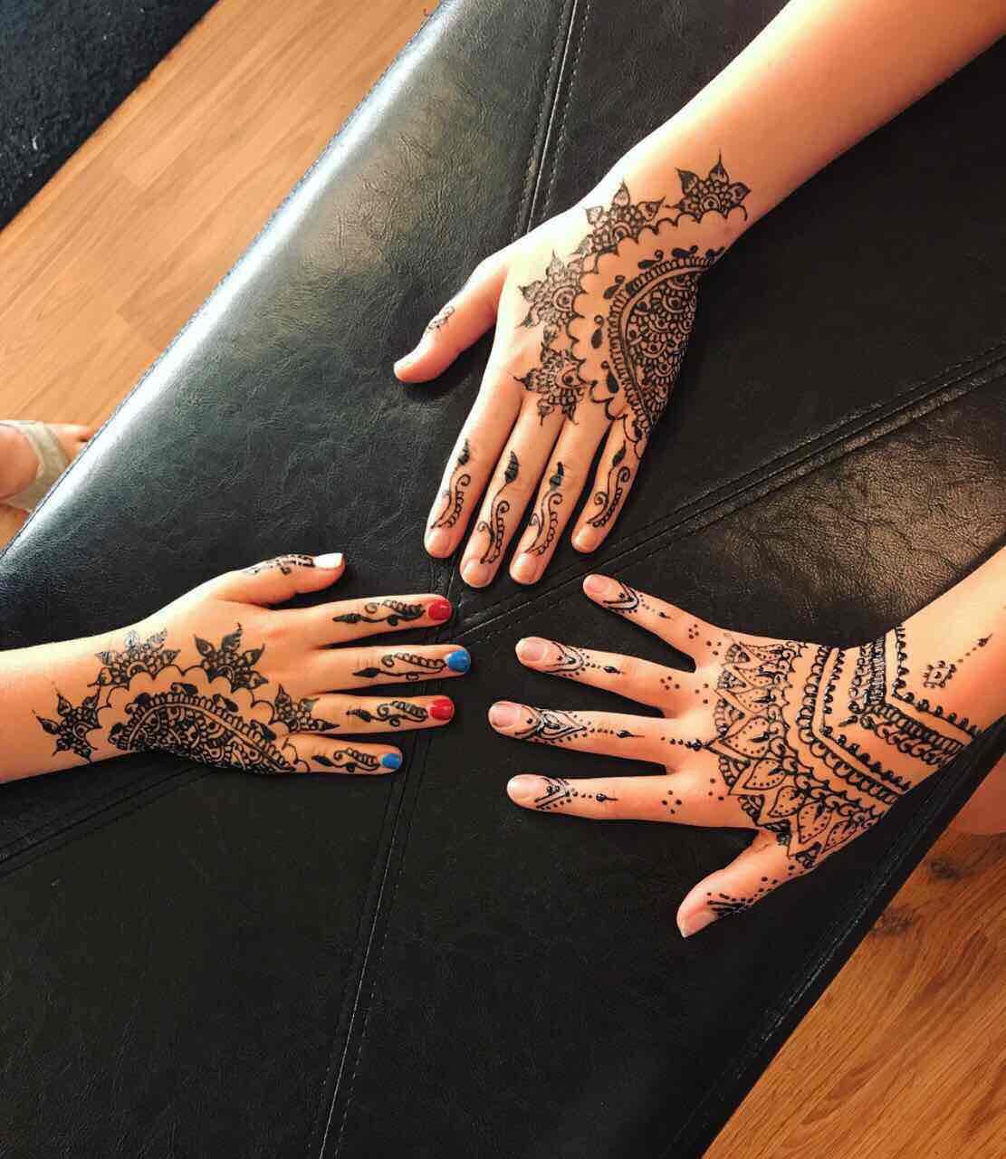 Henna Tattoo · Newrain Eyebrow Threading