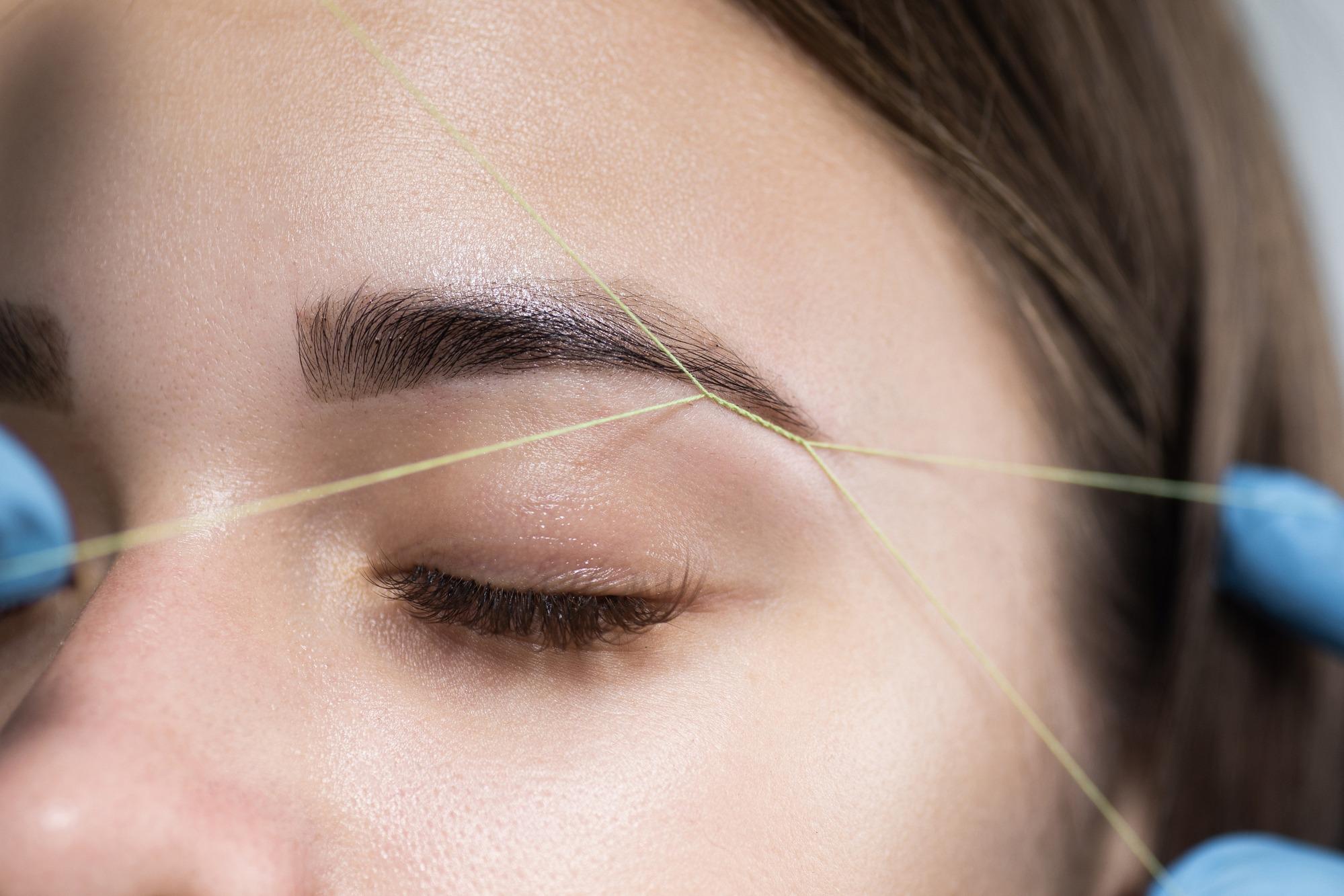 Eyebrow Threading And How Long It Lasts - Newrain Eyebrow ...